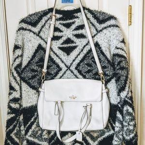 Winter White Kate Spade crossbody bag